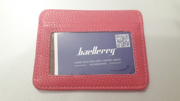 Baellerry 1 PC  Men's  3 Credit Cards Business Pocket Slim Thin ID Credit Card Money Holder Wallet 6 Color photo review