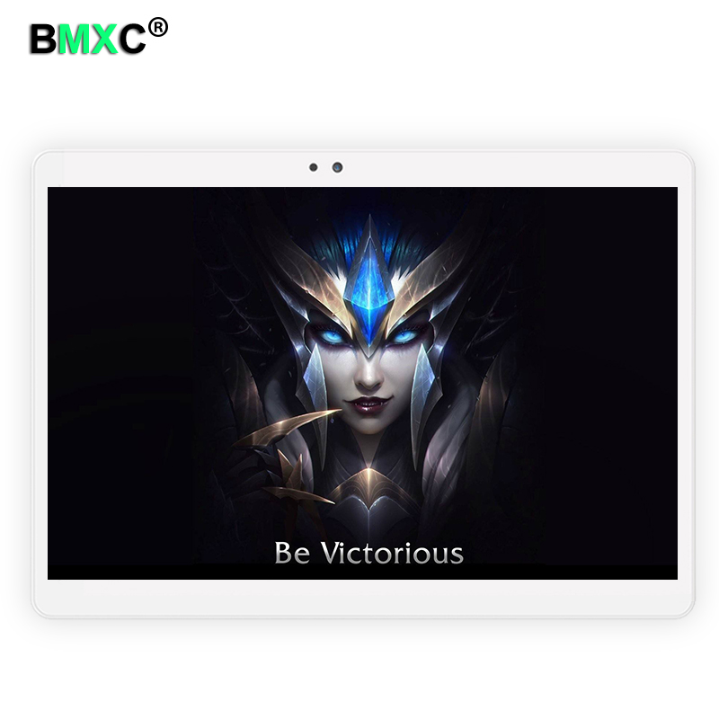 10.1 inch BM-920 Android 7.0 Tablet Pc Octa  Core 4GB RAM 64GB ROM Tablette Built-in 4G LTE Phone Call Dual SIM Card Tablets PC 你好 法语4 学生用书 配cd rom光盘