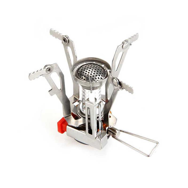 TOMOUNT мини рюкзак канистра плита горелки кемпинг открытый приготовление пищи Складная Походная поставка металлические наружные газовые горелки