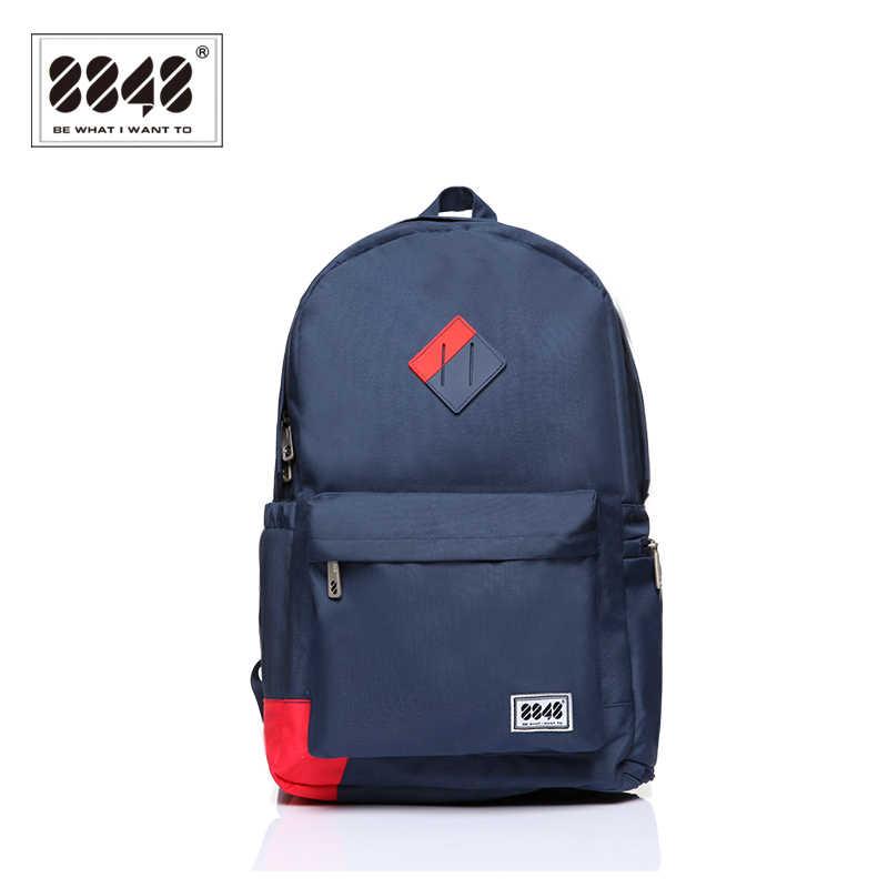 8848 marca mochila de viagem escola mochila saco 15.6 Polegada portátil sapato bolso masculino mochila 2019 especial tipo bolsa de ombro D020-1