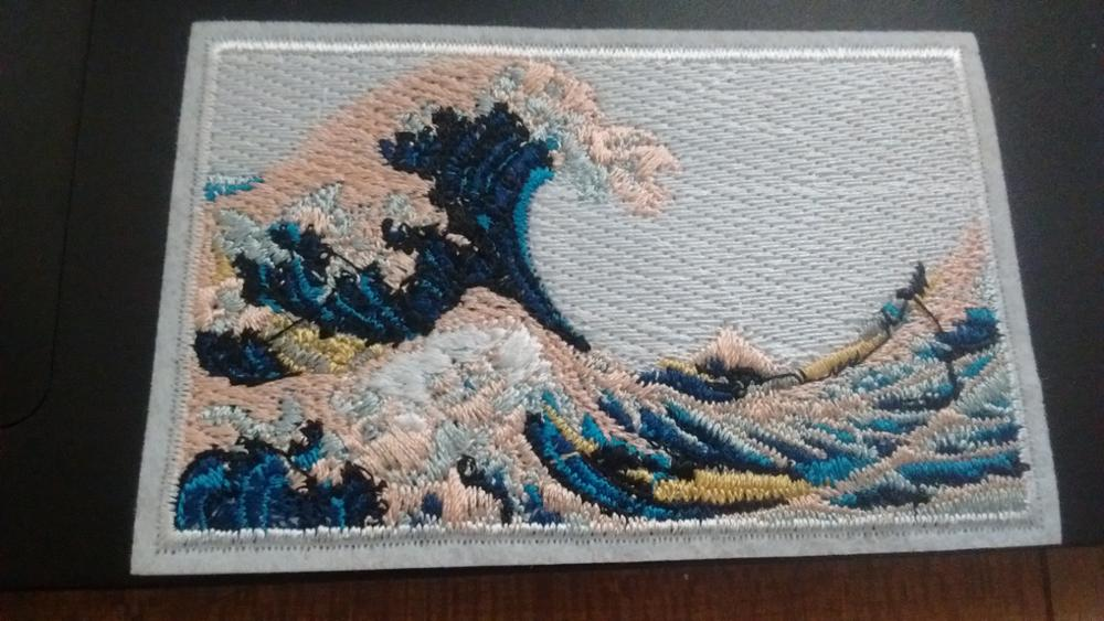 Detail feedback questions about patchfan the great wave off