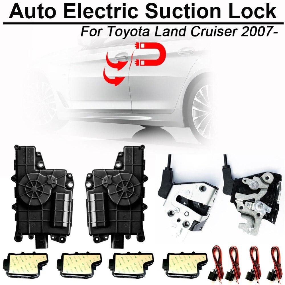 Gewijd Carbar Smart Auto Elektrische Zuig Deurslot Voor Toyota Land Cruiser Automatische Soft Close Deur Super Stilte Auto Voertuig Deur