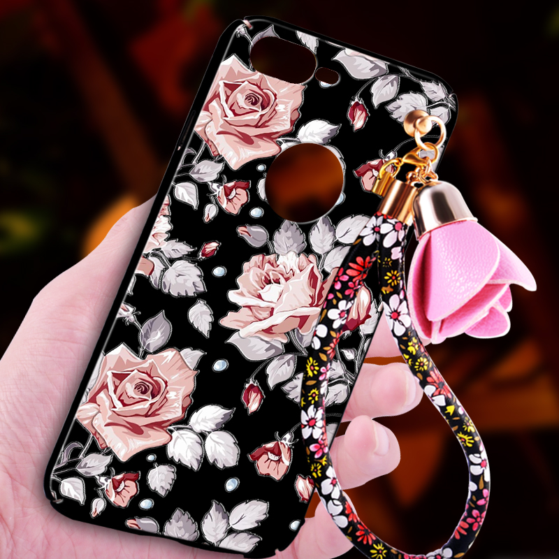 Phone Case For iPhone 7 Plus 3D Case i7 plus Relief Hard Plastic Cover With Strap Phone Coque Cases For iPhone 8 plus Cover