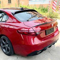 Высокого качества углеродного волокна заднего крыла магистрали крышу спойлер для Alfa Romeo Giulia 2017 2018