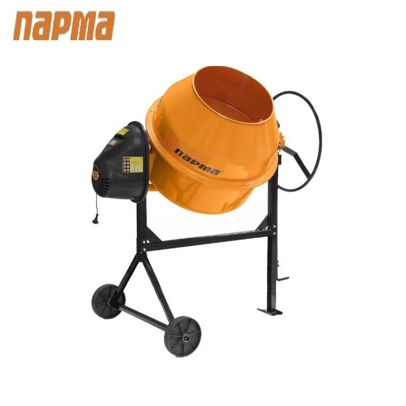 Concrete mixer Parma B-181-E Drum mixer Tilting mixer Transit mixer Knead concrete concrete mixer parma b 220 e