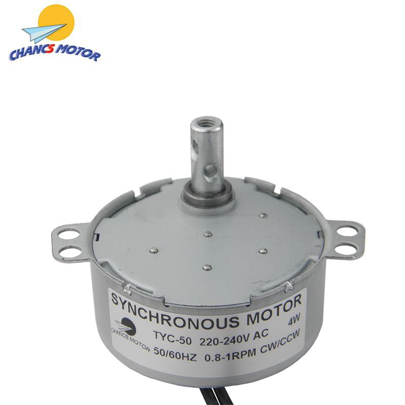110V 50//60Hz 25RPM CCW AC Synchronous Motor Turntable Gear Box for Microwave