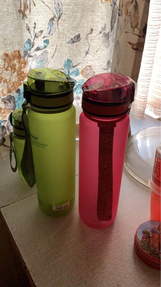 Explosion Sport Water Bottles 500/650ML 1L Protein Shaker Outdoor Travel Portable Leakproof Tritan plastic Drink Bottle BPA Free