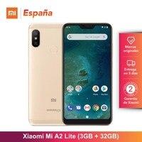 [Global Version for Spain] Xiaomi Mi A2 Lite (Memoria interna de 32GB, RAM de 3GB, Camara dual de 12 + 5 MP) Movil