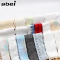 10 ярдов/партия, хлопковая ткань разных цветов с кружевной отделкой