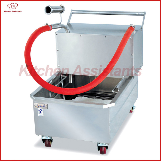 LU400 oil filter cart tool for oil recycle using of catering ...