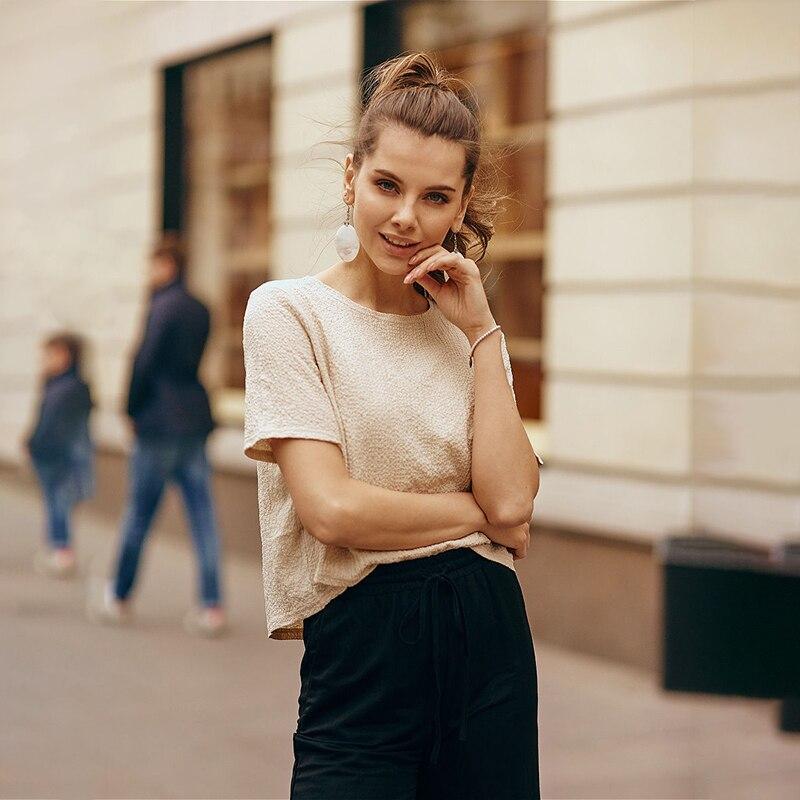 Фото - Blouse T-shirt C.H.I.C female CHIC TmallFS summer blouse c h i c female chic tmallfs summer