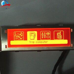 Image 4 - 12 Pin auto 4 menü Display Red screen unterstützung USB und Bluetooth monitor für Peugeot 307 407 408 citroen C4 c5 Keine Klima Control