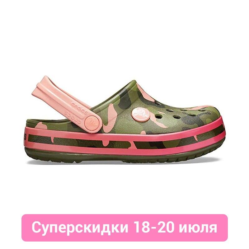 CROCS Crocband MultiGraphic Clog K KIDS or boys/for girls, children, kids crocs crocband clog k
