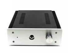 BZ2307B Alüminyum kulaklık amplifikatörü Şasi DIY HiFi Sınıf Bir Amp Muhafaza Kulaklık Amp Durumda