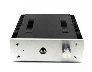 Image 1 - BZ2307B Alüminyum kulaklık amplifikatörü Şasi DIY HiFi Sınıf Bir Amp Muhafaza Kulaklık Amp Durumda