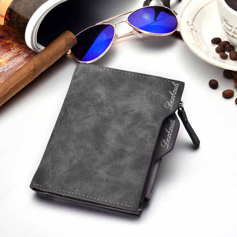 Nieuwe merk mannen portemonnee Zacht Lederen portemonnee met afneembare kaartsleuven multifunctionele mannen portemonnee mannelijke clutch Mannen Portemonnee