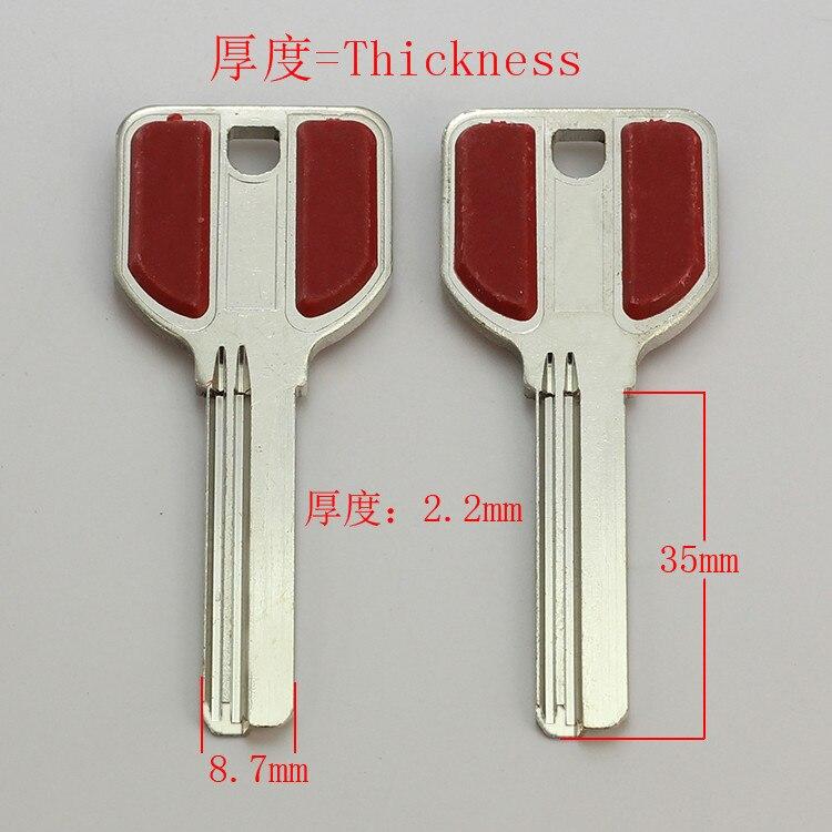 B309 House Home Door Key blanks Locksmith Supplies Blank Keys 15 pieces/lot