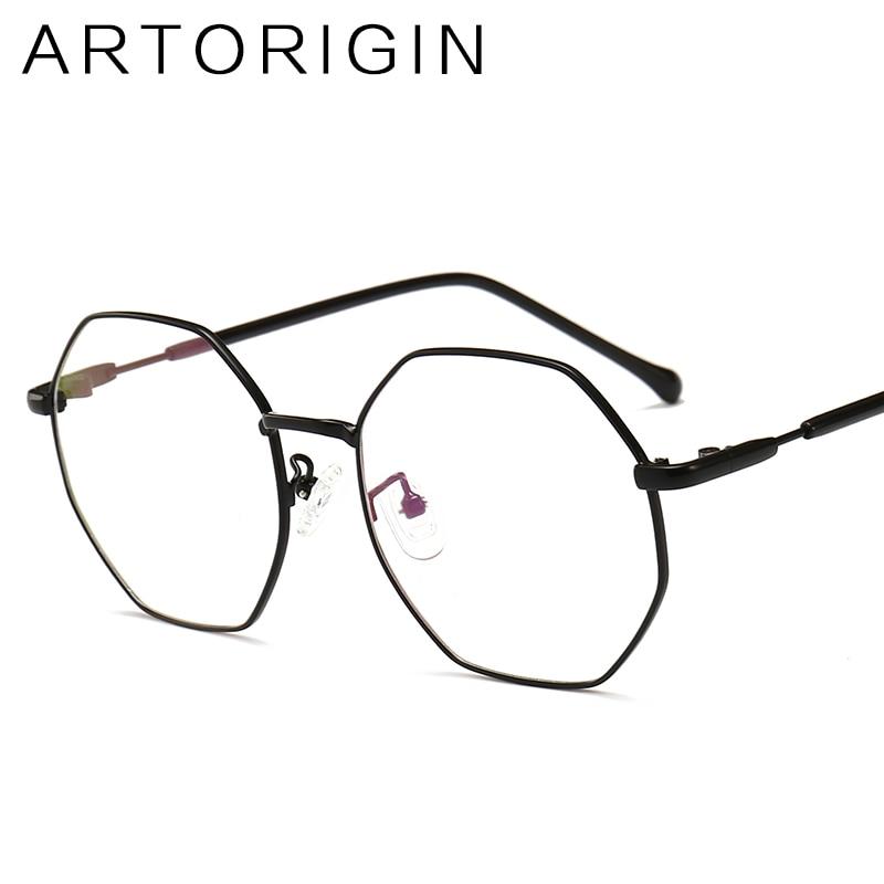 Octagon Glasses Frame Stylish Women Clear Glasses Brand lentes opticos mujer Nerd Frames Oculos de grau feminino