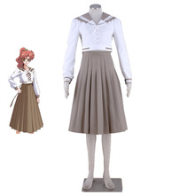 Sailor Moon Stars Jupiter/Makoto Kino/Lita Kino Uniform Cosplay Clothing Costume