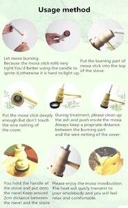 Image 4 - Moxibustion Moxa Đốt Hộp 10 Nguyên Chất Moxa Dính Cuộn Trung Quốc Truyền Thống Massage Trị Liệu Cho Antistress & Châm Cứu