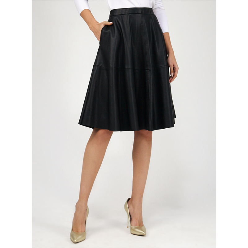 tom farr 2018Autumn And Winter High Waisted Skinny Female Velvet Skirt Pleate free shiping  T-W1528_58 high waisted bodycon midi skirt