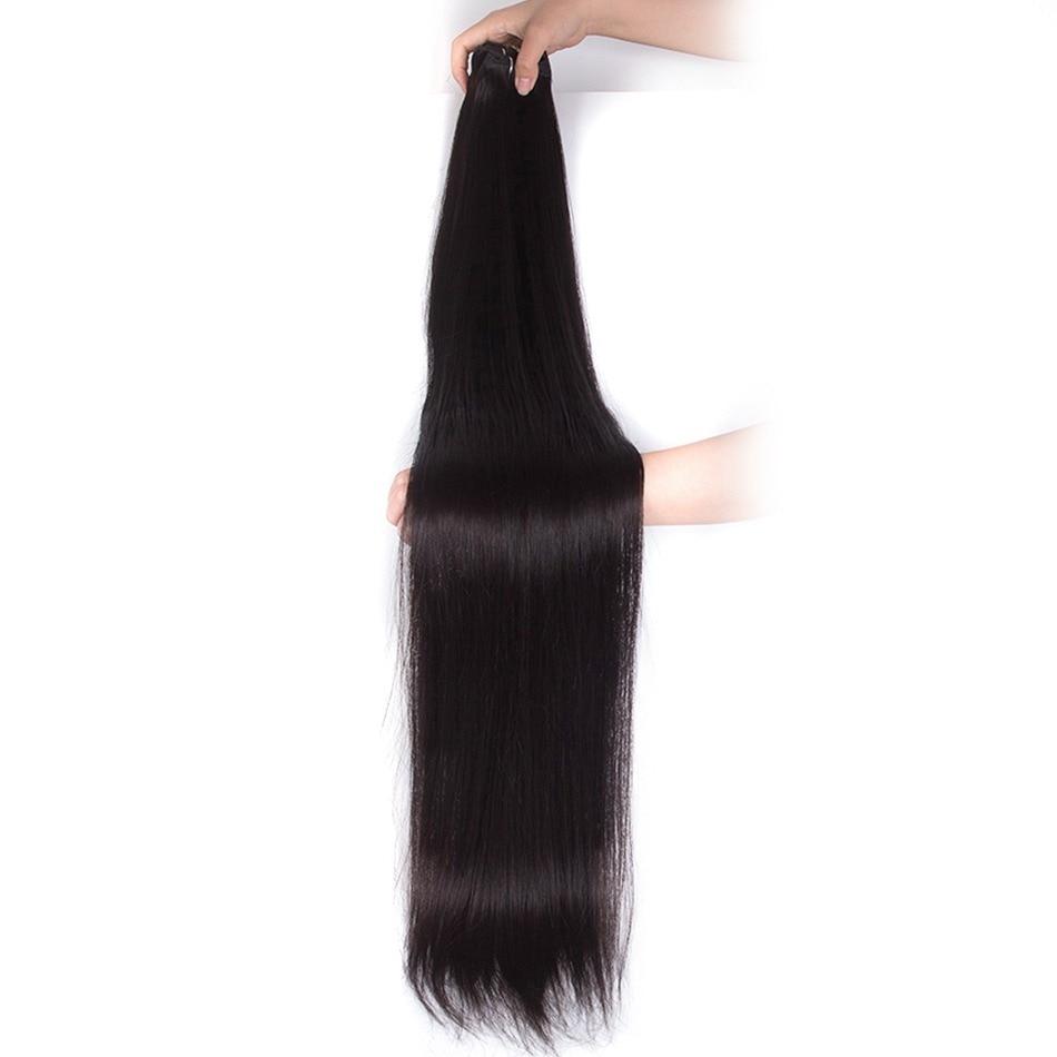 Ms Lula Blonde Brasilianische Haar Gerade Lange Bündel 40 Zoll Menschliches Haar 1 Bundle Farbe 613 Remy Haarwebart Doppel Schuss Ein Stück Haarverlängerung Und Perücken