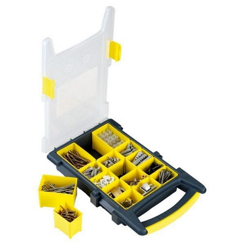ALYCO 192760-Organizer Vacuum Plastic For Consumables 15 Compartments 210x338x62mm