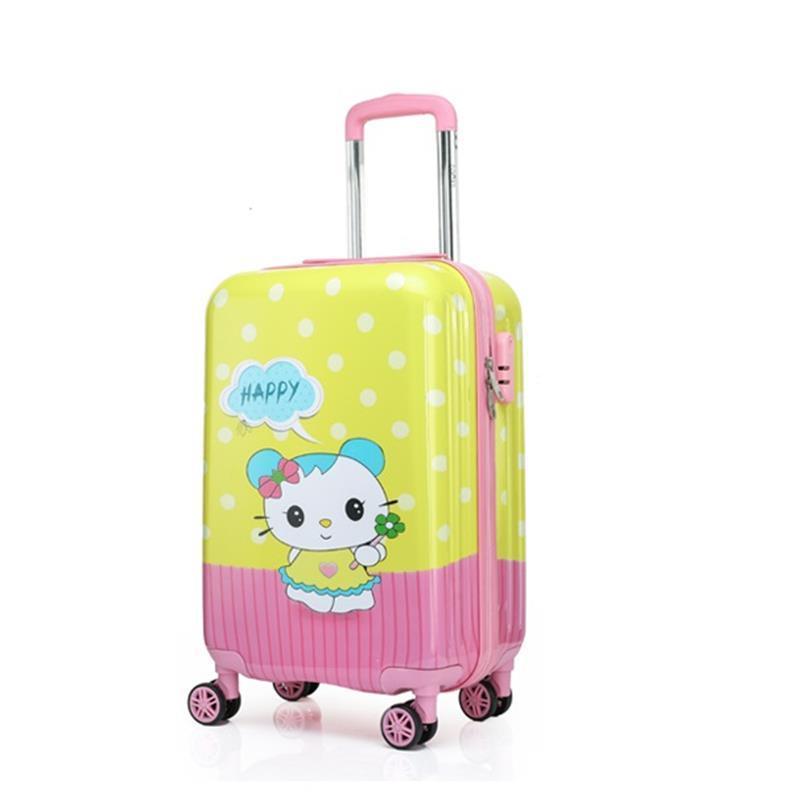 And Travel Carry On Set Com Rodinhas Kids Bag Bavul Children Valiz Koffer Trolley Mala Viagem Suitcase Luggage 181920inch