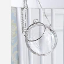 Wallet Clutch-Bag Ball-Shoulder-Bag Acrylic Evening-Bags BELLA Casual Fashion Women Lovely