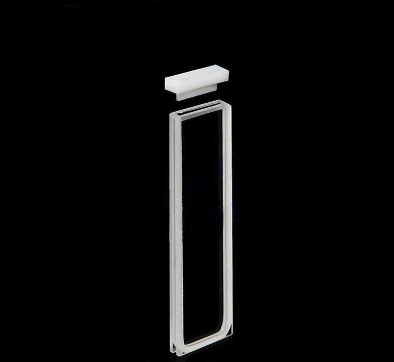 JGS1 material 0.5mm standard quartz spectrophotometer cuvetteJGS1 material 0.5mm standard quartz spectrophotometer cuvette