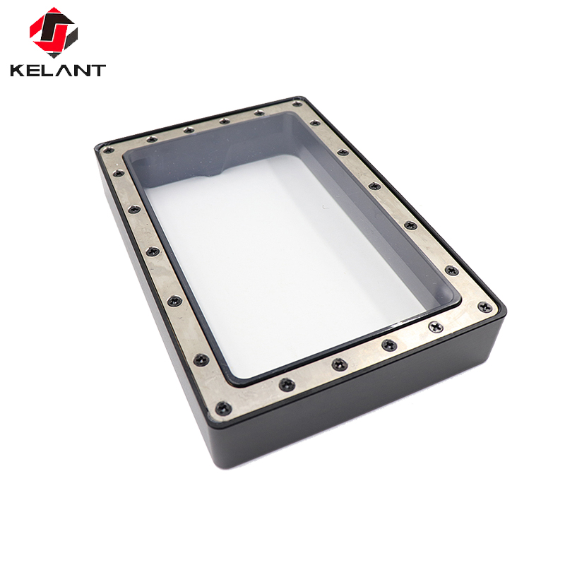 Kelant 3D Printers parts accessories Anodized Aluminium Resin Vat Tank For Photon FEP Film and Steel Ring Installed Fully Metal
