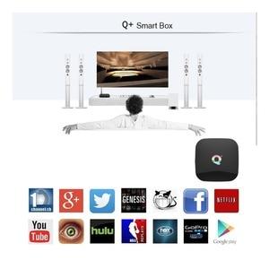 Image 2 - Smart TV BOX QPLUS 6K Ultra HD 4+32G Android 9.0 WIFI Google Cast Netflix Media Player IPTV Set top Box qplus