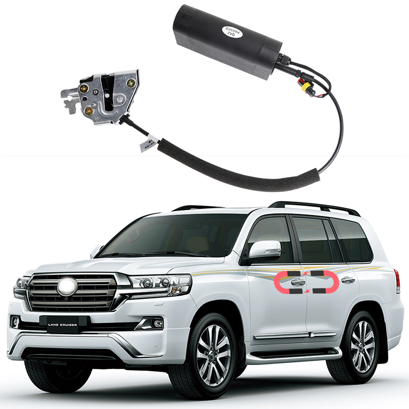 For Toyota Land Cruiser Electric Suction Door Automobile Refitted Automatic Locks Car Accessories Intelligence Door For LC200