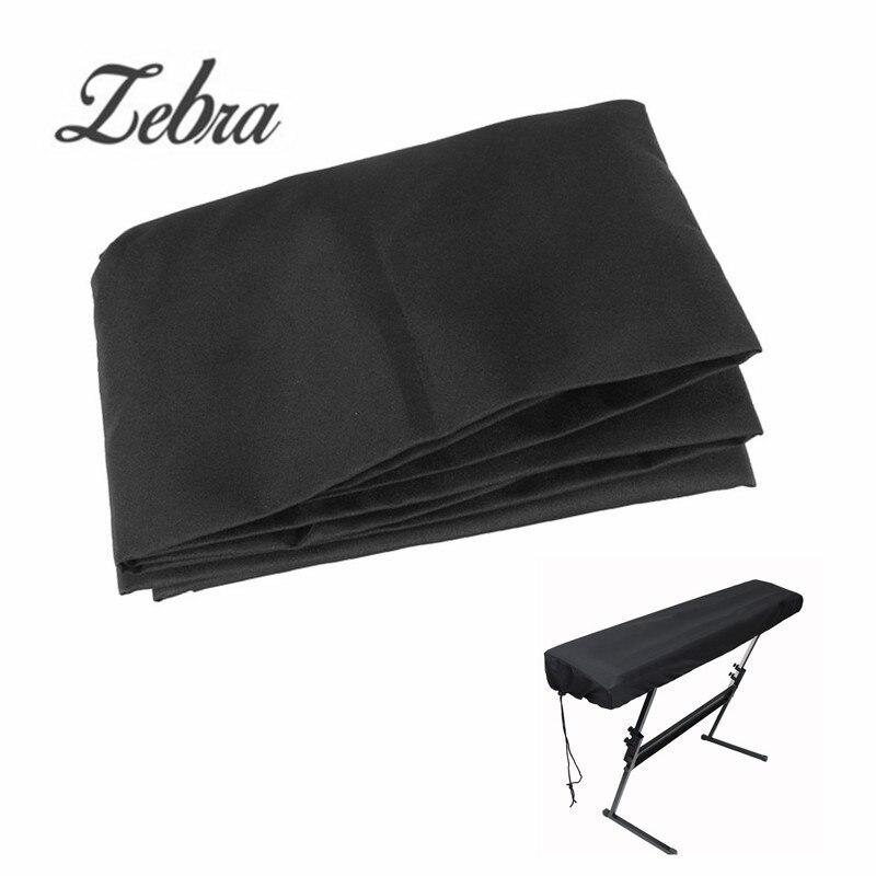 zebra 61 keys electronic piano cover piano dustproof lamination cloth piano keyboard dust. Black Bedroom Furniture Sets. Home Design Ideas
