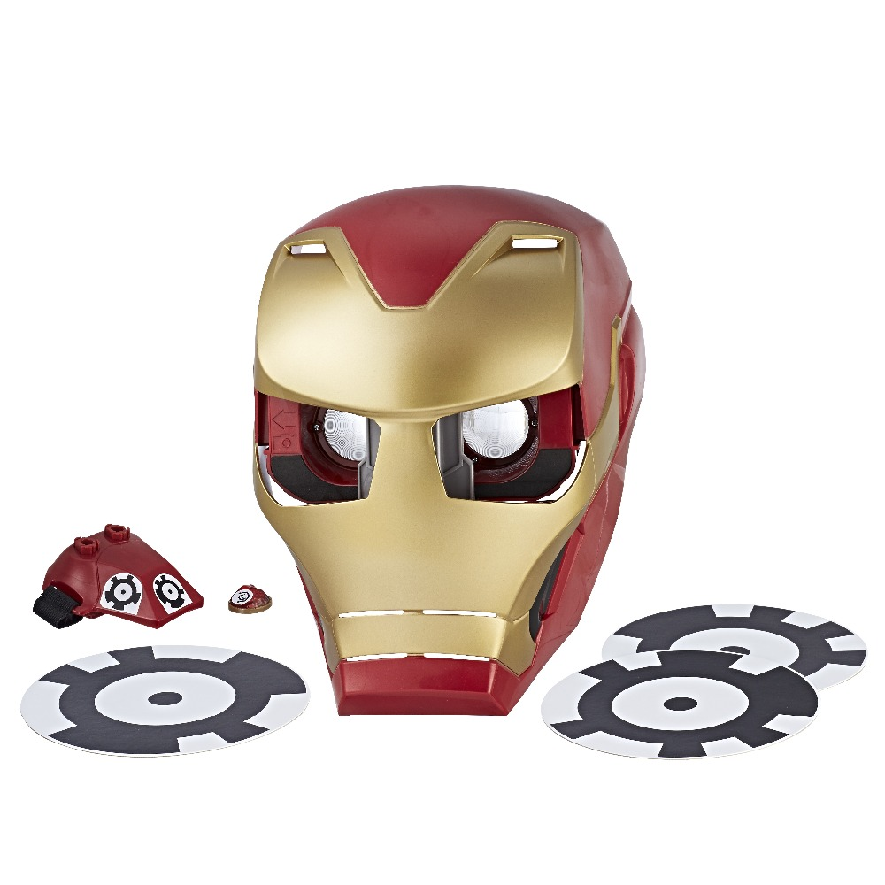 Hasbro  Mask 8306071 playsets interactive masks aprilpromo Avengers Marvel Iron Man avengers 2 age of ultron iron man mark 43 pvc action figure collectible model toy 9 23cm kt056