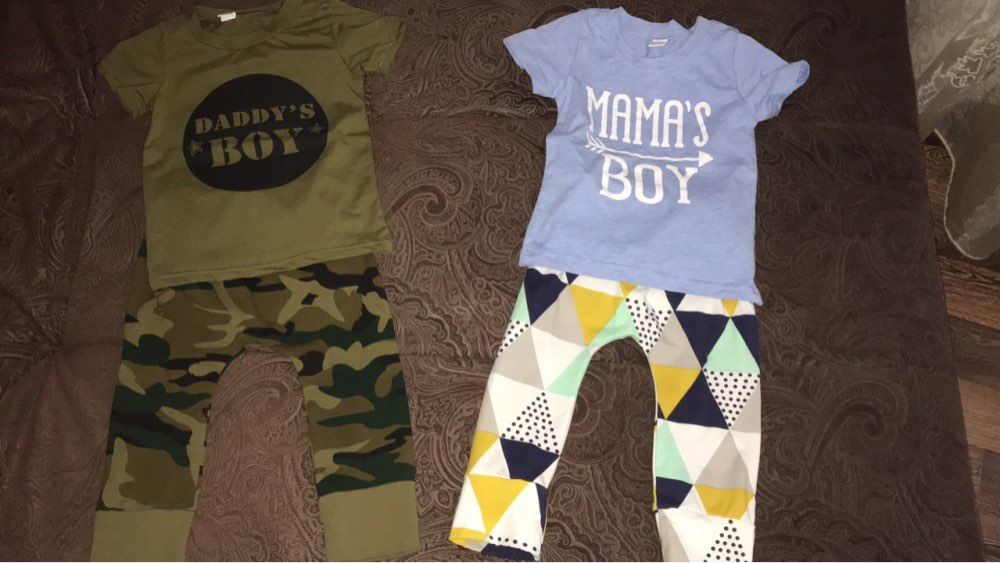 Summer Newborn Baby Boy Clothes mama s boy Short Sleeve T-shirt Tops+ Pants Leggings Outfits Clothes Baby Clothing Set 0-24 M