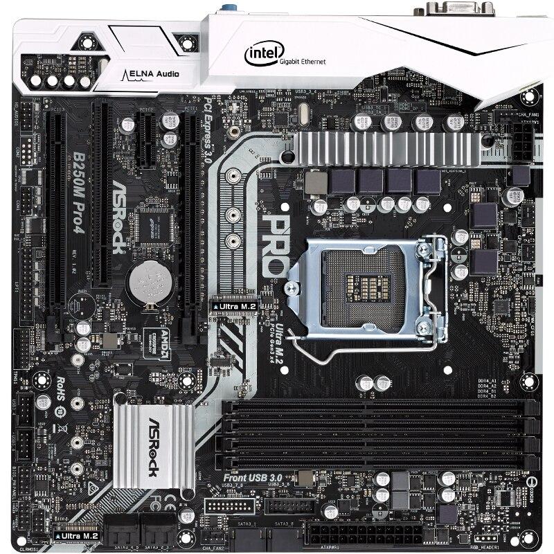 b250 1151 motherboard for asrock b250m pro4 lga1151 ddr4 support g3900 g4560 i5 6500 7500 i7. Black Bedroom Furniture Sets. Home Design Ideas