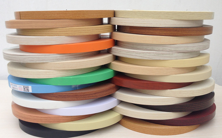 Pre Glued PVC Edge Banding MFC Wood Veneer Office Kitchen Wardrobe Furniture Board Panel Edgebanding 2.2cm 3cm 5cm X 5m / Edger