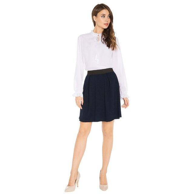 Gloria Jeans Элегантная расклешенная юбка с эластичным поясом для девушки GSK009594