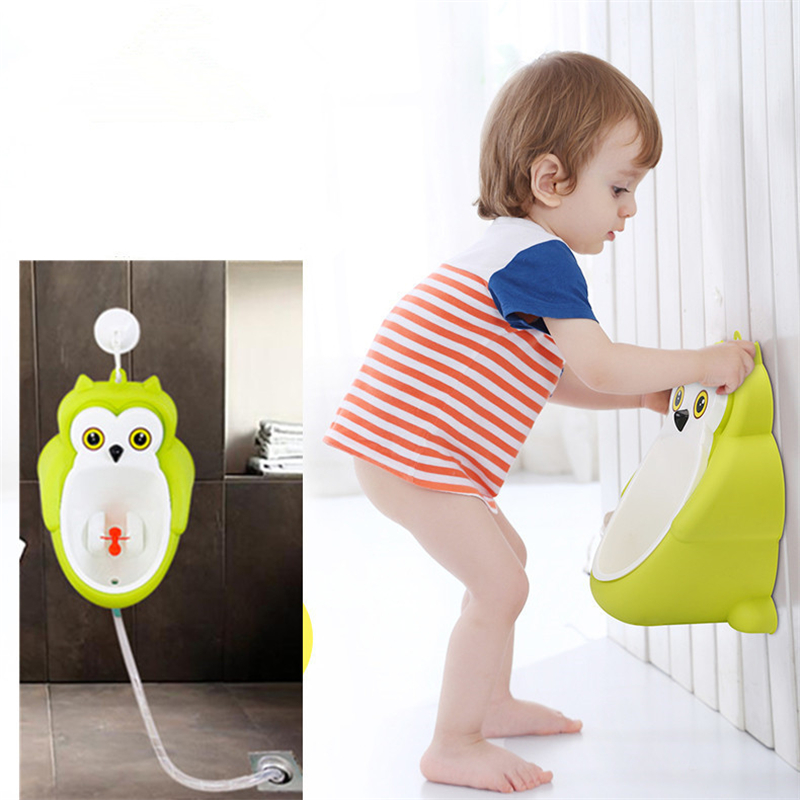 Toilettentraining Newly Owl Kids Vertical Urinal Training Toilet Wall-mounted Urinals Boys Potty Toilet Bacio Para Meninos Bathroom Bowl Eine GroßE Auswahl An Waren Reise-töpfchen