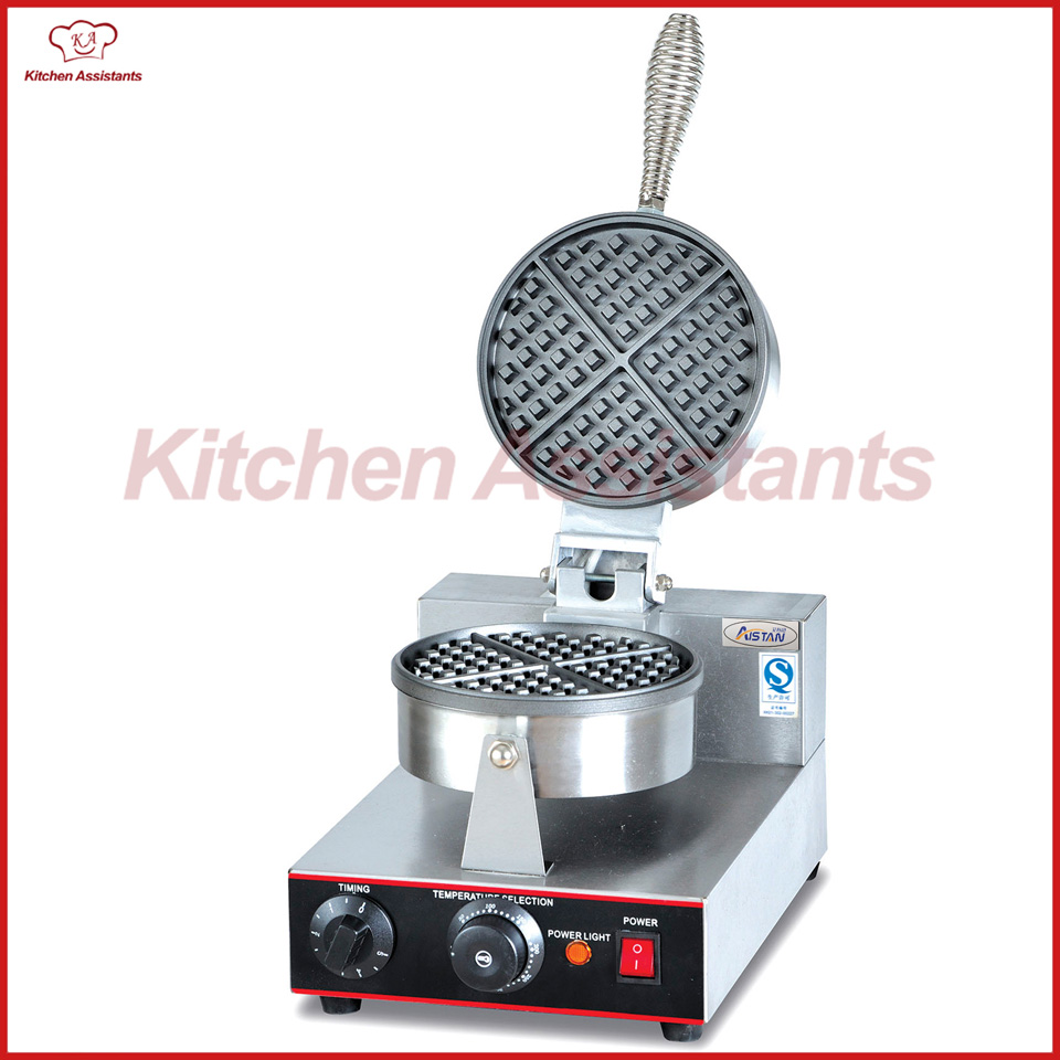 UWB1 electric commercial desktop waffle baker waffle maker machine directly factory price commercial electric double head egg waffle maker for round waffle and rectangle waffle