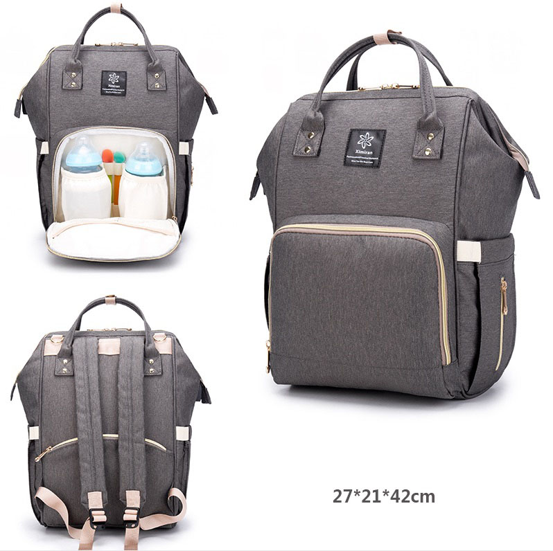 Mother Bag With USB Mama Baby Bottle Water Bag Mummy Diaper Bag Women Mom Mammy Mommy Travel Waterproof Backpack HandbagsMother Bag With USB Mama Baby Bottle Water Bag Mummy Diaper Bag Women Mom Mammy Mommy Travel Waterproof Backpack Handbags