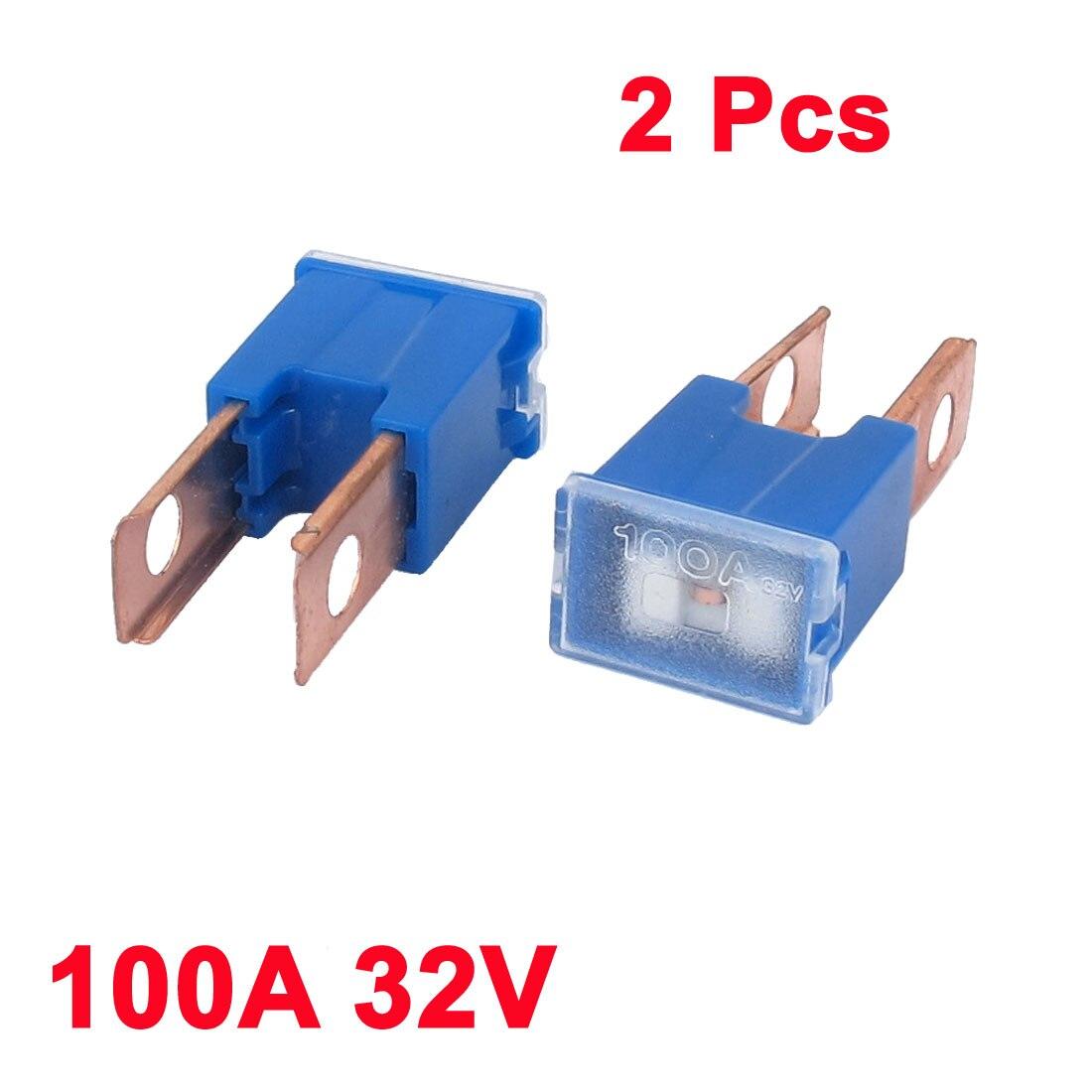Pink 30A AMP 32V Female Plug in Blade Jcase Cartridge Standard PAL Fuse Top USA