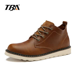 TBA 5919 winter leather casual shoes men's tooling boots
