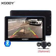 XGODY 7 дюймов Автомобильный gps навигатор 128 МБ 8 Гб FM Bluetooth Сенсорный экран gps навигация обратная камера СБ нав Навител Бесплатная Европа карта