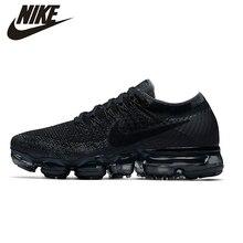 NIKE Air VaporMax оригинальный Новое поступление Для мужчин s кроссовки сетка дышащий Массаж Открытый Поддержка спортивные кроссовки для Мужская обувь