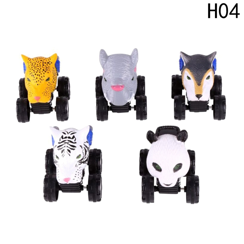 Children Toy Child Gift Kids Dinosaur Toys Car Model Car Mini Toy for Boys Dinosaur Head Car Plastic Pull Back 4 Wheels