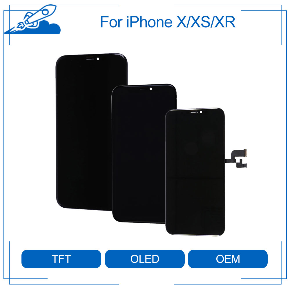 Elekworld AAA Grade Full Front For IPhone X XS XR LCD Display