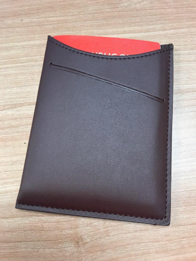 KUDIAN BEAR Paspoort Cover Rfid Solid Paspoorthouders Handgemaakte Creditcardhouders Case Travel Paspoort Portemonnee - BIH018 PM49 photo review