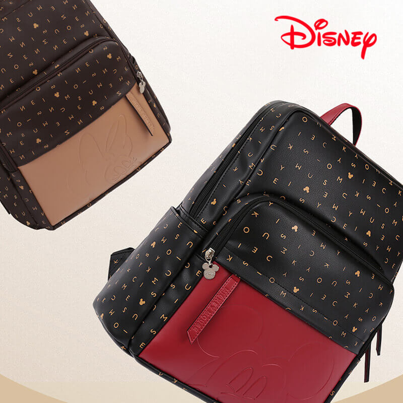 Disney Mickey Minnie Best Diaper Bag Baby Bag Backpack Mummy Maternity Care  Large Capacity Work Style Nappy Bag Letter Pattern 6b035a0b8db7